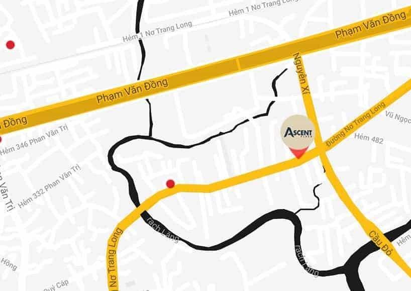 Vị trí dự án Ascent Plaza