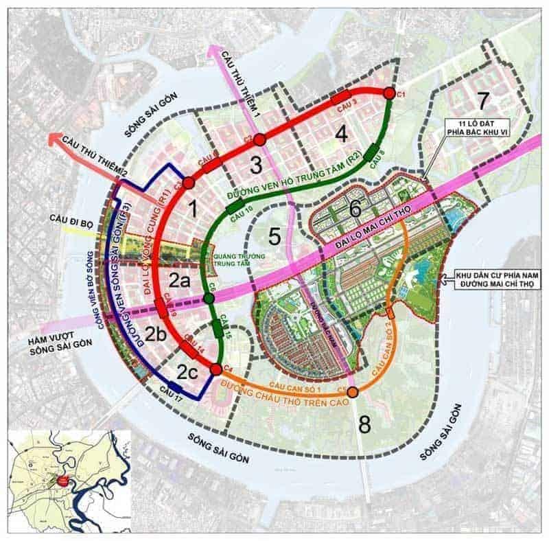 Vị trí Eco Smart City