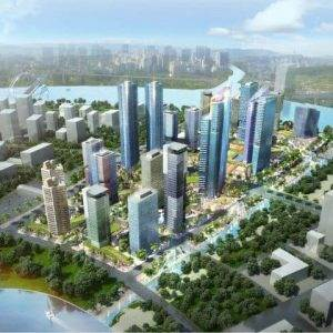 Phối cảnh Eco Smart City