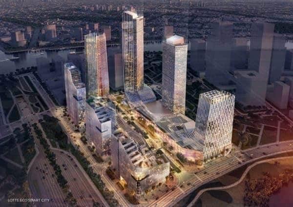 Phối cảnh dự án Eco Smart City