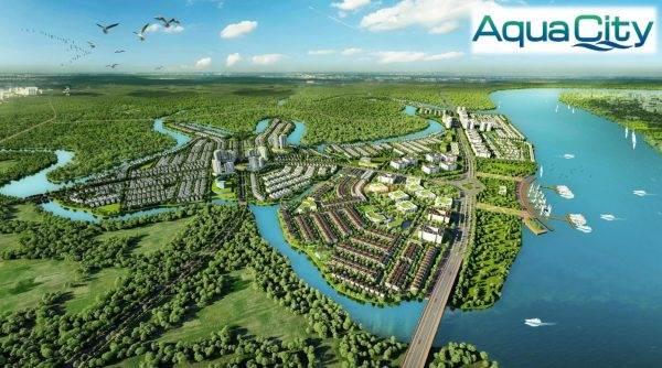 Phối cảnh Aqua City