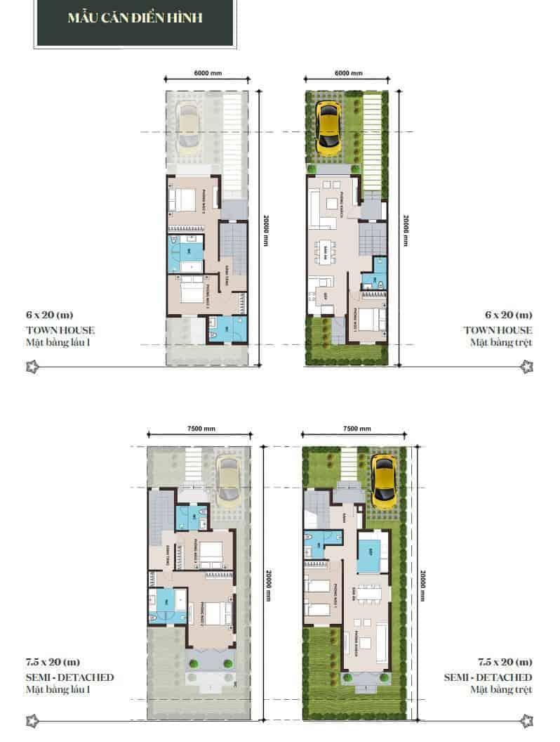 Mẫu thiết kế căn hộ Novaworld