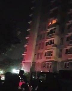 Vụ cháy tại chung cư Flora Anh Đào