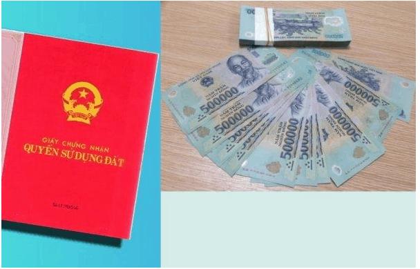 điều kiện cấp sổ đỏ nộp tiền