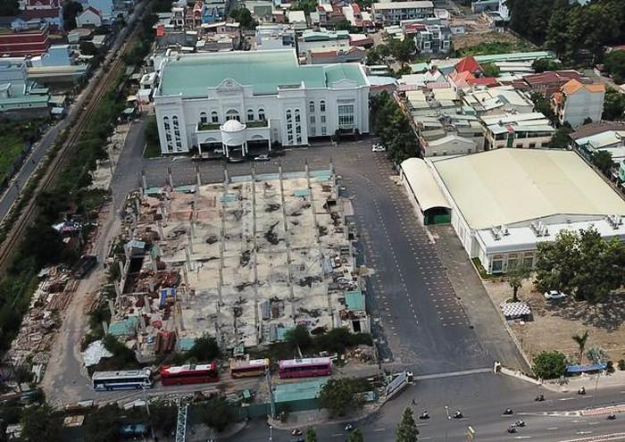 Trung tâm thương mại, hội nghị tổ chức sự kiện xây dựng không phép ở phường Tân Tiến, TP Biên Hòa.