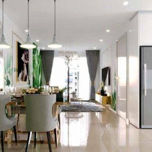 Thiết kế căn hộ Minh Quốc Plaza