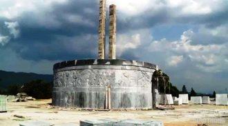 Tượng đài được đầu tư xây dựng với kinh phí 48 tỷ đồng