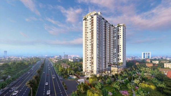 Phối cảnh dự án căn hộ chung cư Minh Quốc Plaza