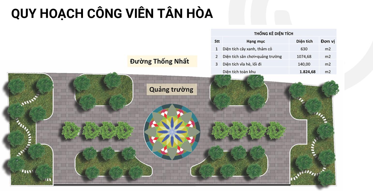 Quy hoạch Công Viên Tân Hòa