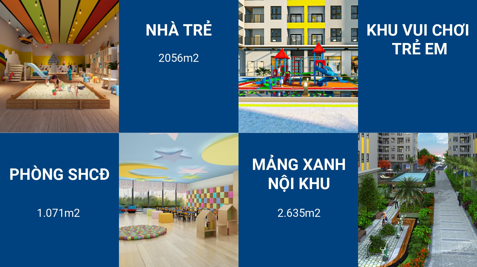 Tiện ích cao cấp của dự án Bcons Plaza