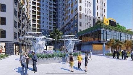 Dự án được thiết kế theo phong cách hiện đại, tận dụng tối đa không gian